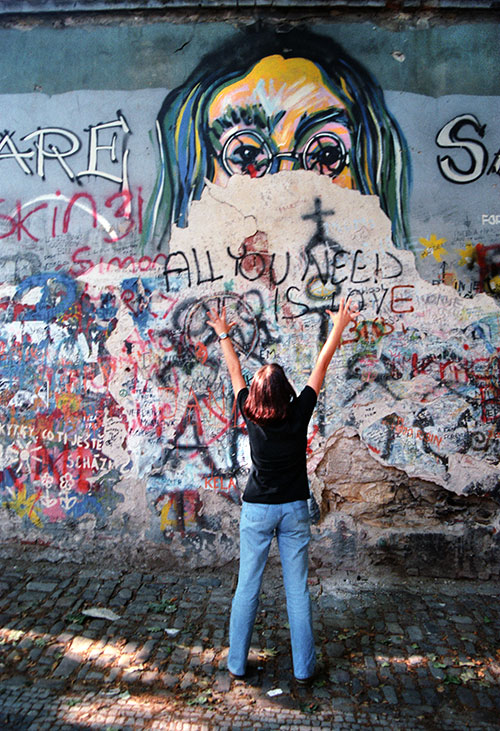 John Lennon, Prag